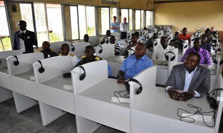 The English lab inaugurated in Kinshasa. (State Dept. Images)