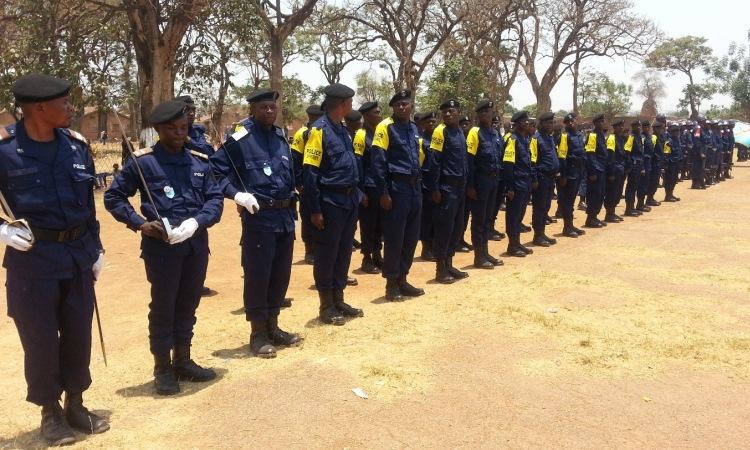 Embassy provides community policing training u s for Consul training