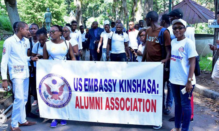 U.S. Embassy Kinshasa Celebrates the International Volunteer Day