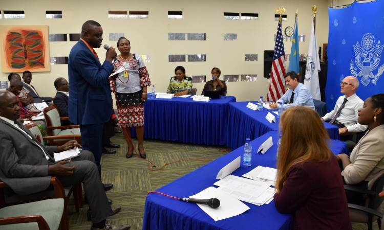 USG Reaffirms its Commitment to Support the Fight Against GBV in DRC