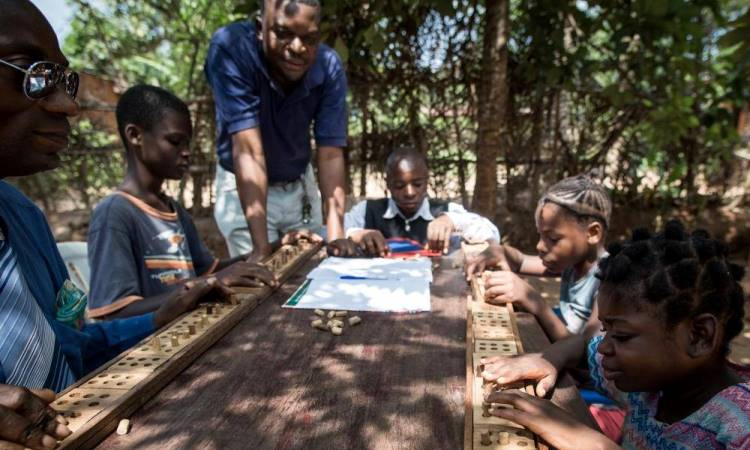 Thanks to USAID Disabled Children Receive a Quality Education
